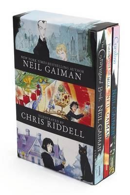 Neil Gaiman/Chris Riddell 3-Book Box Set by Neil Gaiman