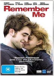 Remember Me DVD image