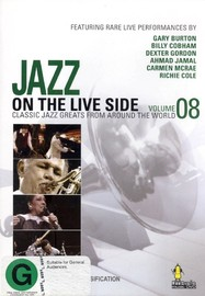 Jazz Legends Live! Vol 8 on DVD