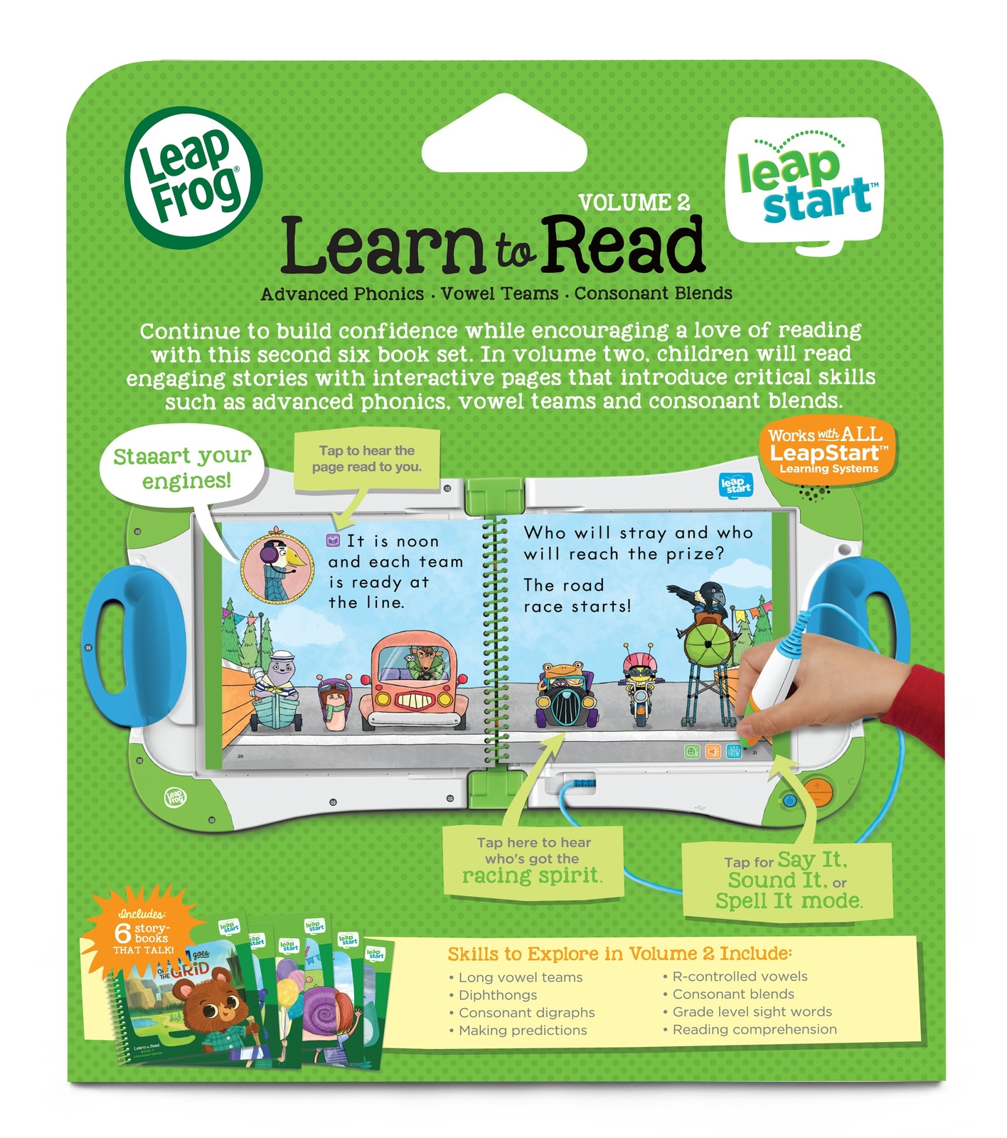 Leapstart: Mr. Pencil's Read & Write - Activity Book (Level 2) image
