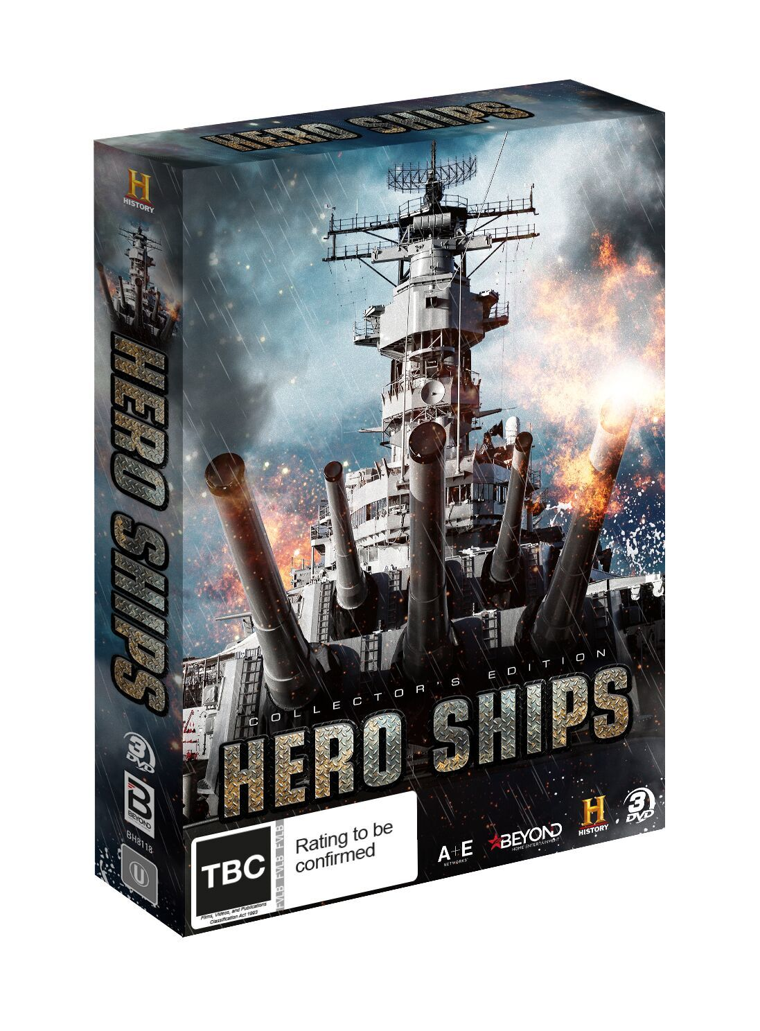 Hero Ships: Collector's Edition on DVD image