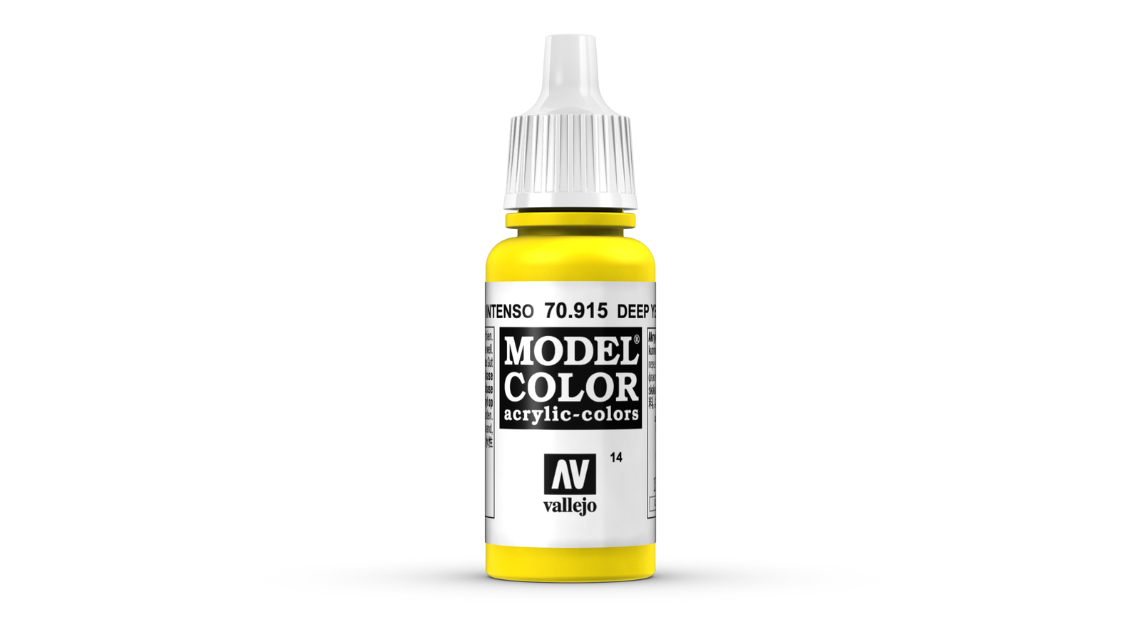 Vallejo Model Colour Deep Yellow 17ml image