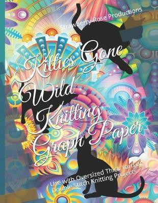 Kitties Gone Wild Knitting Graph Paper by Strawberry-Rose Productions