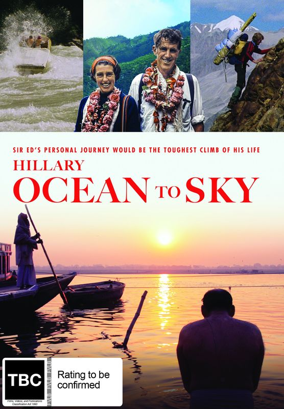 Hillary: Ocean to Sky on DVD