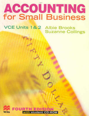 Accounting for Small Business: Vce Units 1 & 2 by Albie Brooks image