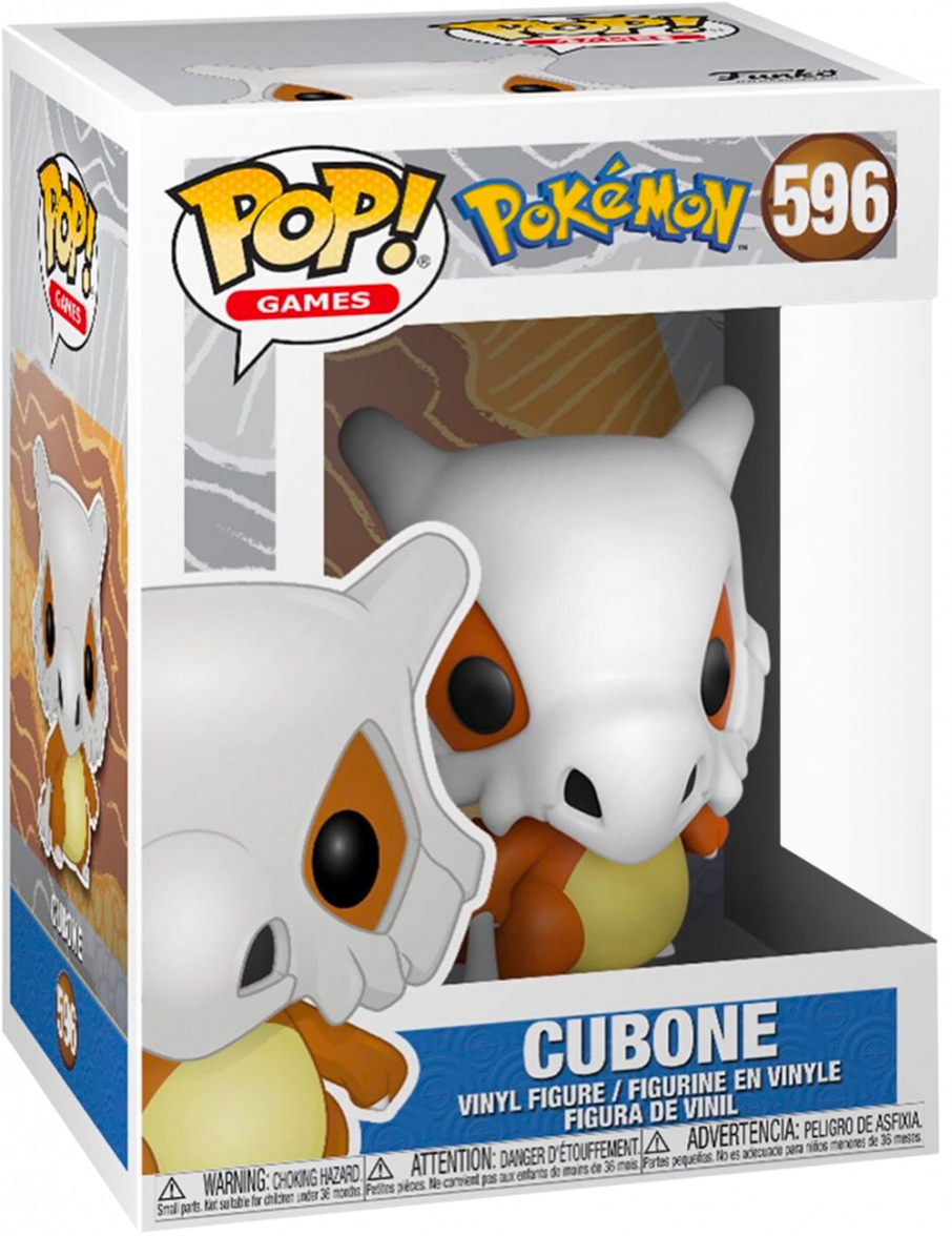 Pokemon: Cubone - Pop! Vinyl Figure image