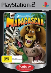 Madagascar (Platinum) for PlayStation 2