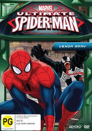 Ultimate Spider-Man: Venom Army on DVD