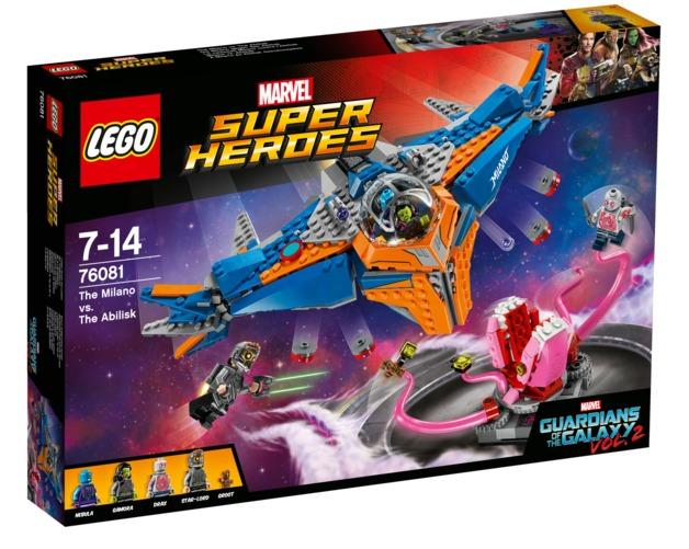 LEGO Super Heroes: The Milano vs. The Abilisk (76081)