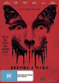 Before I Wake on DVD
