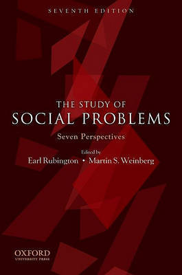 The Study of Social Problems by Earl Rubington image