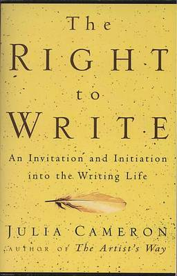 The Right to Write by Julia Cameron image