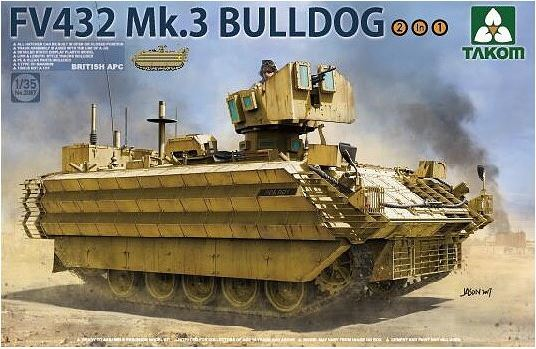 Takom 1/35 FV432 MK.3 Bulldog Armoured Personnel Carrier Model Kit image