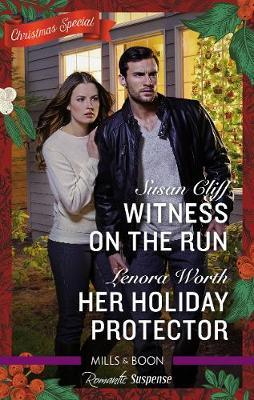 Romantic Suspense Duo/Witness on the Run/Her Holiday Protector by Susan Cliff