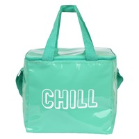 Sunnylife: Beach Cooler Bag - Neon Turquoise (Large)