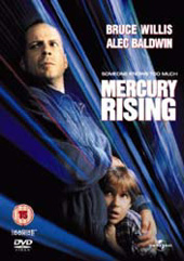 Mercury Rising on DVD