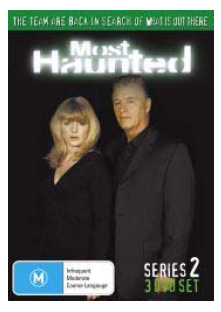 Most Haunted - Complete Series 2 (3 Disc Set) on DVD image