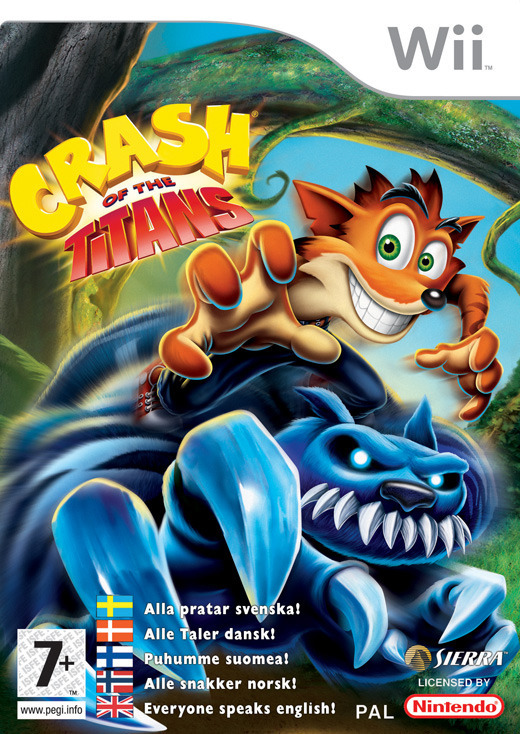 Crash of the Titans for Nintendo Wii