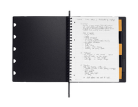 Rhodia A4+ Exabook, Lined (Organizer & Refillable Notebook) image