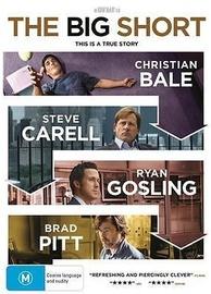 The Big Short on DVD