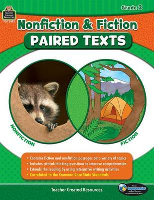 Nonfiction and Fiction Paired Texts Grade 3 by Susan Collins
