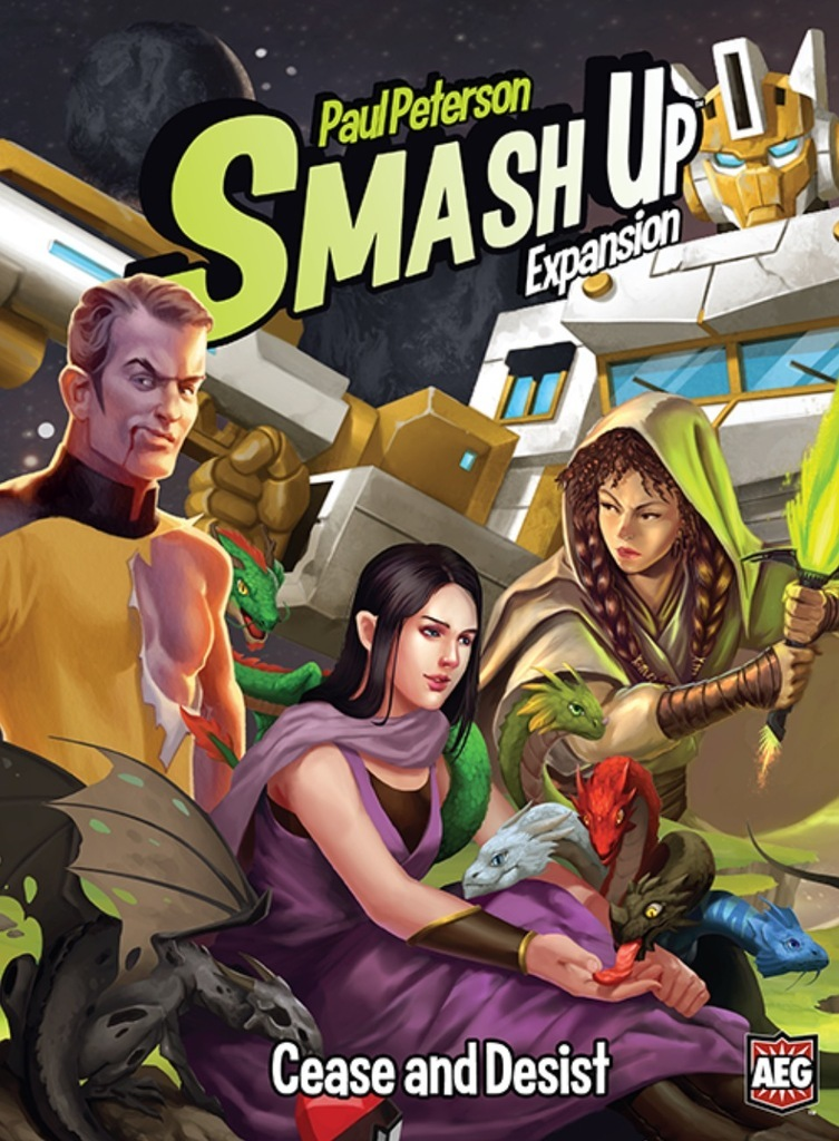 Smash Up: Cease and Desist - Game Expansion image