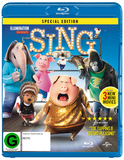 Sing on Blu-ray
