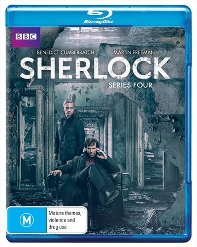 Sherlock - Series Four on Blu-ray image