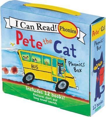 Pete The Cat Phonics Box by James Dean