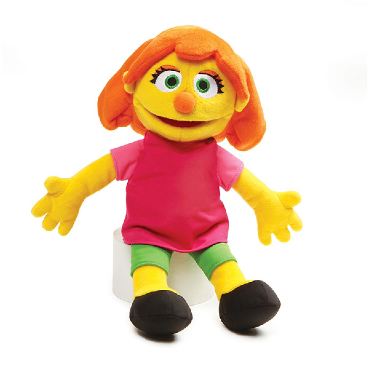 "Sesame Street: Julia - 14"" Plush image"