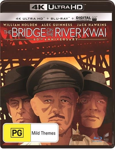 The Bridge on the River Kwai on Blu-ray, UHD Blu-ray, UV image