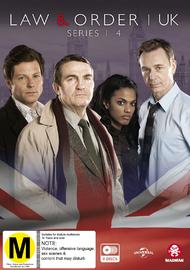 Law & Order (UK): Series 1 - 4 (8 Disc Set) on DVD