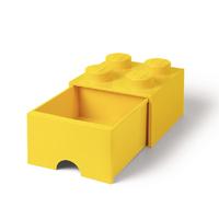 LEGO Storage Brick Drawer 4 (Yellow)