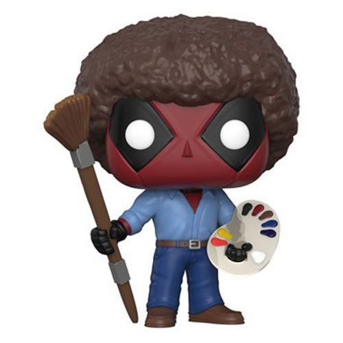 Deadpool: Playtime Bob Ross - Pop! Vinyl Figure image