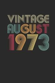 Vintage August 1973 by Vintage Publishing image