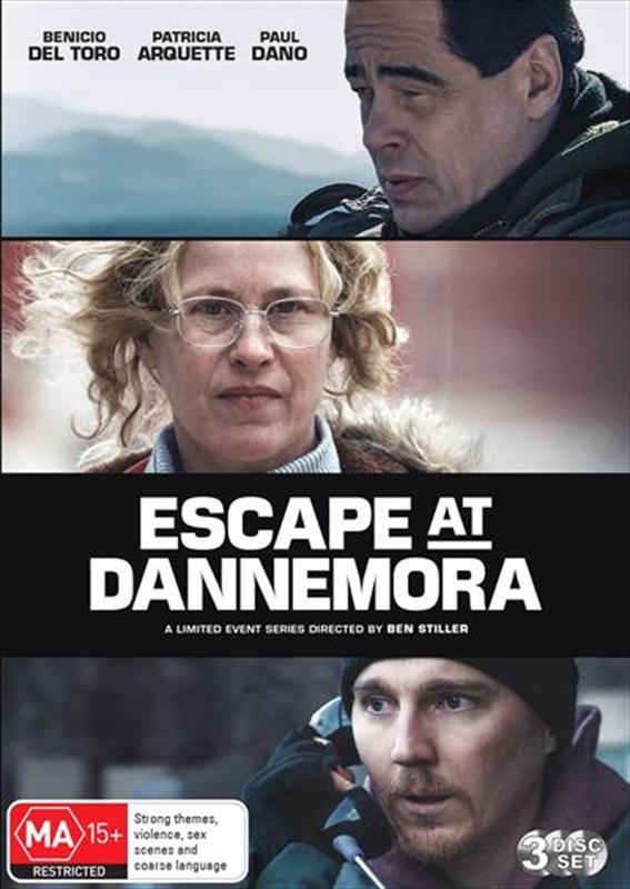 Escape At Dannemora on DVD