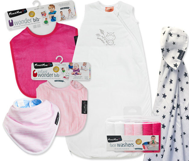 Mum 2 Mum: Bamboo Gift Pack - Pink