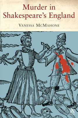 Murder in Shakespeare's England by Vanessa McMahon image
