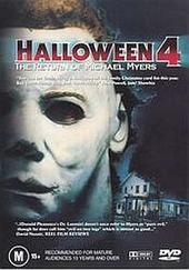 Halloween 4 - The Return Of Michael Myers on DVD