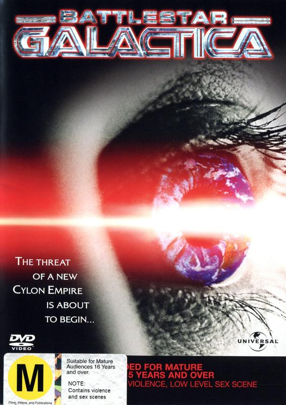 Battlestar Galactica - The Mini Series on DVD