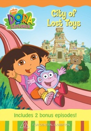 Dora The Explorer - City of Lost Toys on DVD