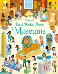 First Sticker Book Museums by Holly Bathie