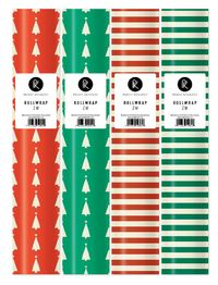 Penny Kennedy: Xmas Themed - Roll Wrap (Assorted Designs)
