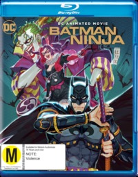 Batman: Ninja on Blu-ray