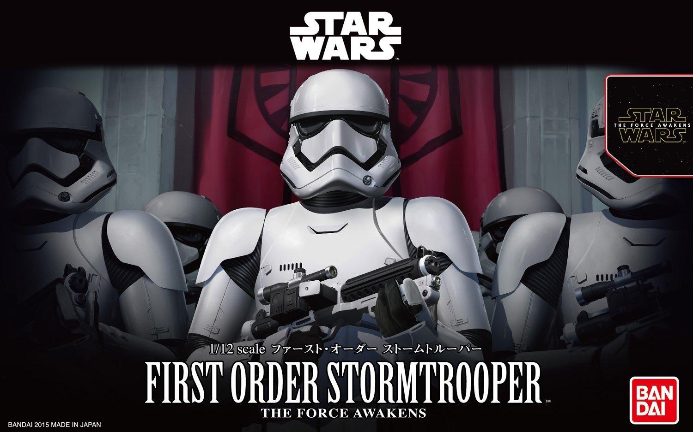 Star Wars 1/12 First Order Stormtrooper - Scale Model Kit image