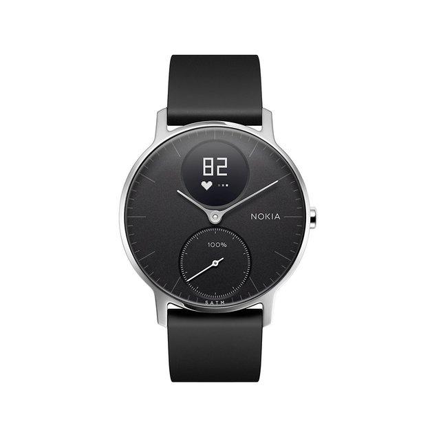 Nokia Steel HR Smart Watch - 36mm, Black