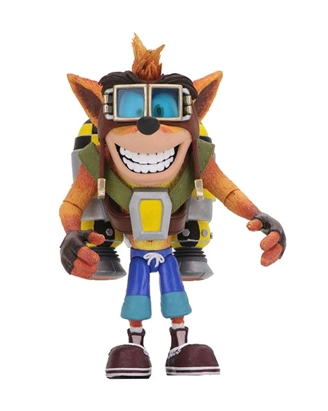"Crash Bandicoot: Crash with Jetpack - 7"" Deluxe Action Figure"