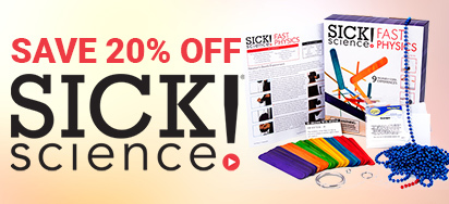 20% off Sick Science!