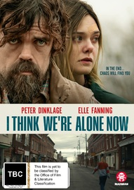 I Think We're Alone Now on DVD