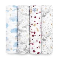 Harry Potter Swaddles Pack of 4 image